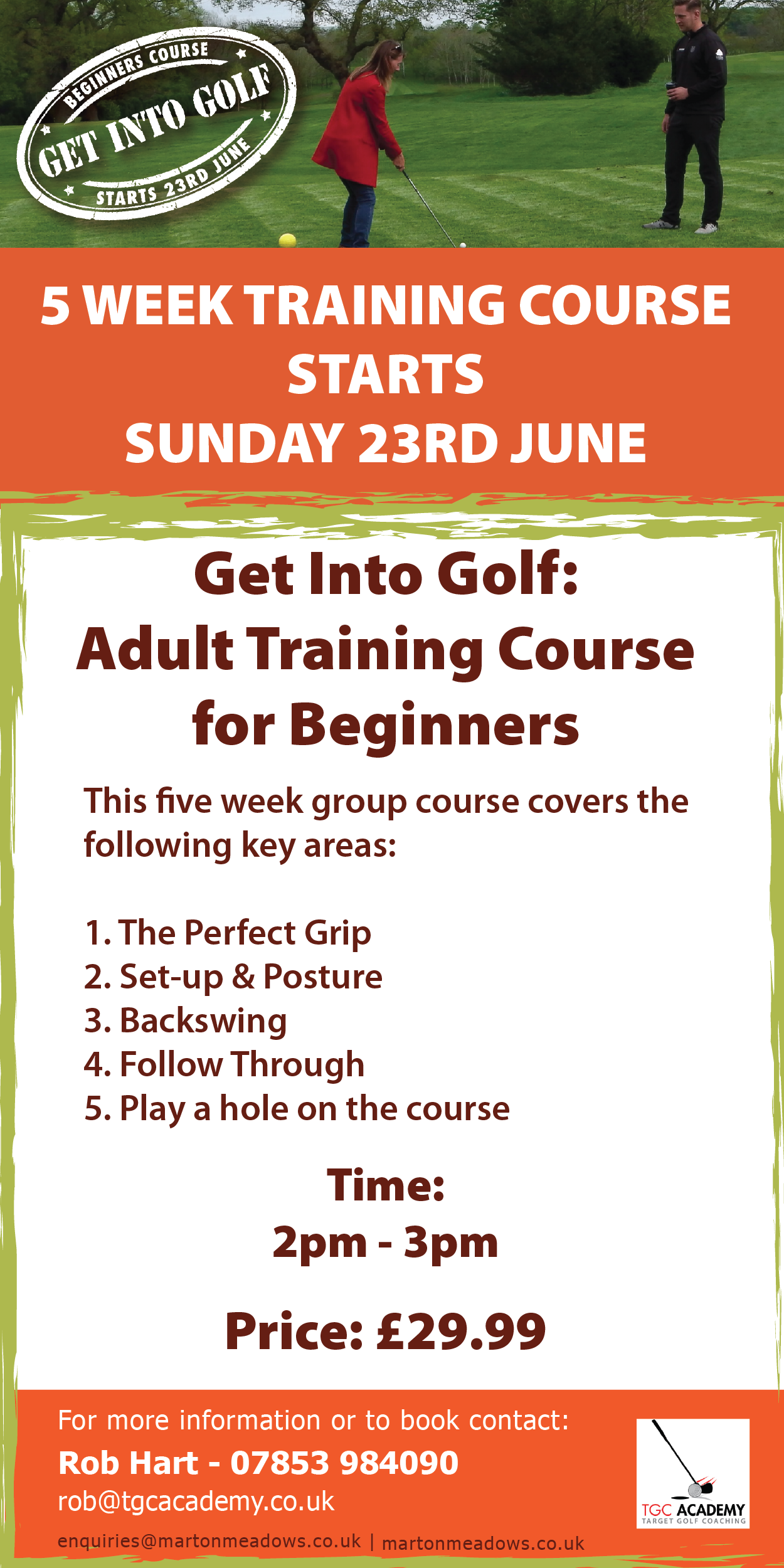 Get into Golf for Beginners