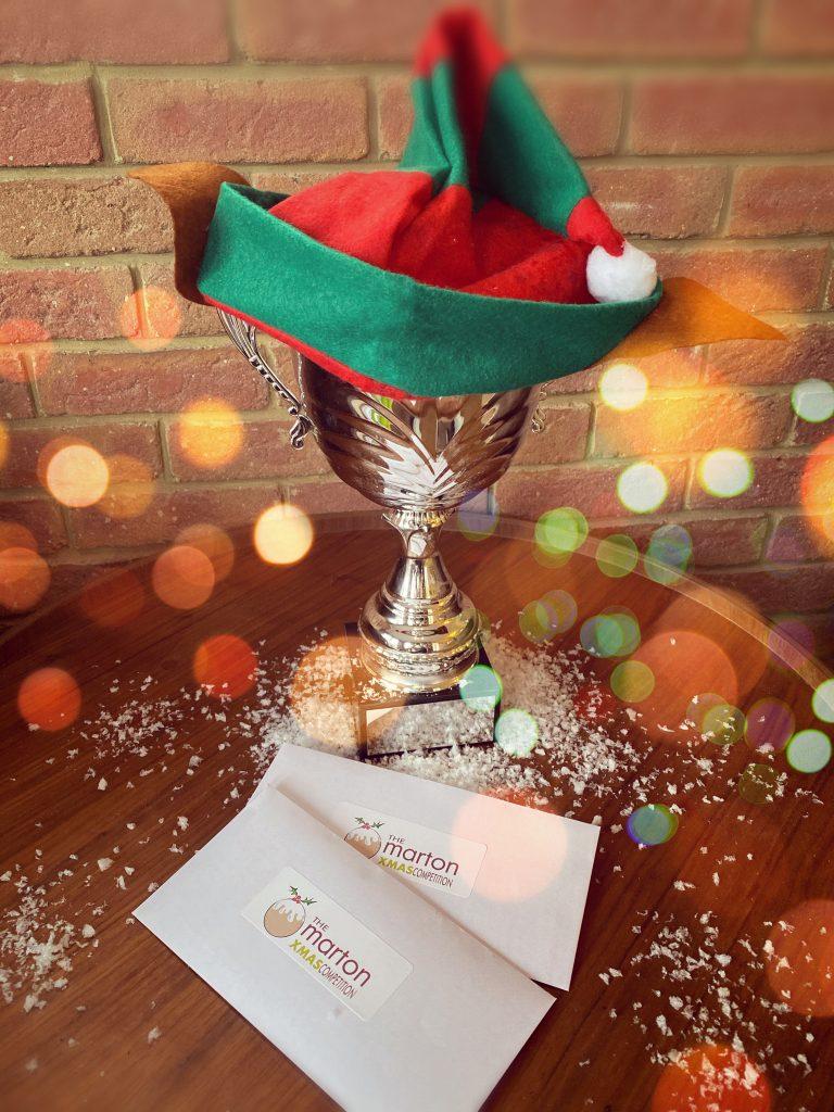 Marton Xmas Competition Trophy